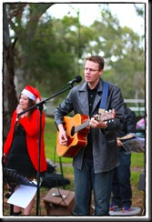 Andy and Jo at Carols 2010