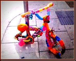 yarned bicycle