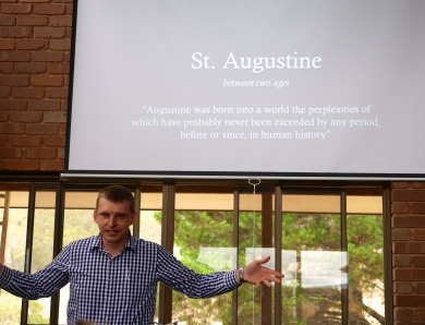 St Augustine: a lecture by Steve Chavura